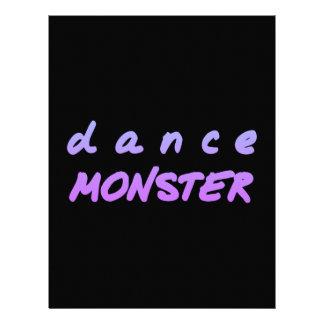 The Dance Monster Letterhead