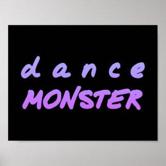 The Dance Monster Poster