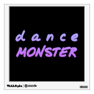 The Dance Monster Wall Sticker