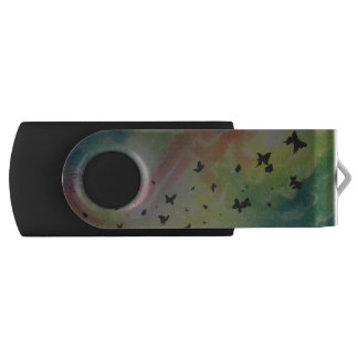 The Dance Of Butterflies USB Flash Drive