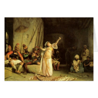 """The Dance of The Almeh"", by Jean Leon Gerome Card"