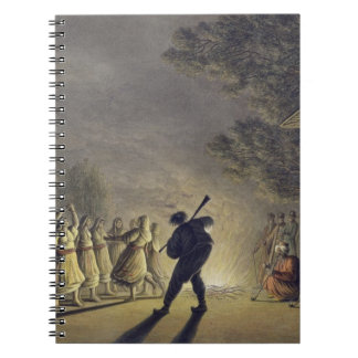 The Dance of the Bulgarian Peasants, pub. by Willi Spiral Note Book