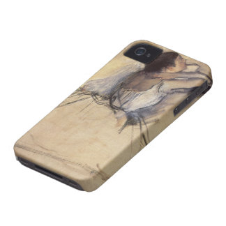 The Dancer by Edgar Degas, Vintage Ballerina Art iPhone 4 Covers