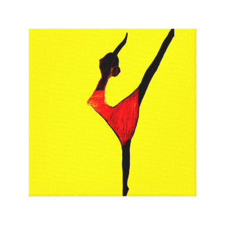 THE DANCER canvas