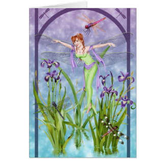 The Dancer - Greeting Card