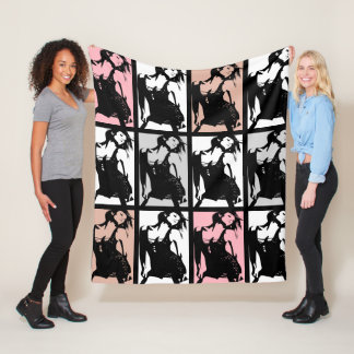 The Dancing Beauty Fleece Blanket