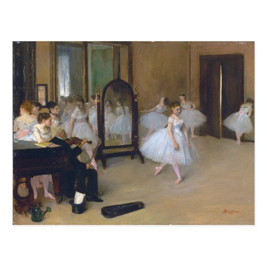 The Dancing Class - Edgar Degas Postcard
