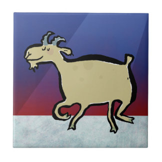 The dancing goat tile