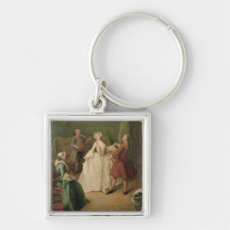 The Dancing Lesson Keychain