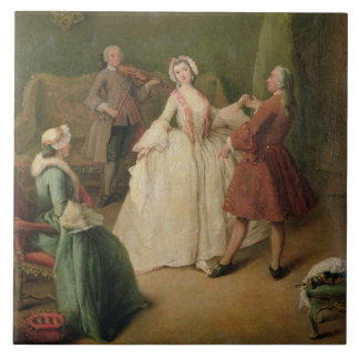 The Dancing Lesson Tile
