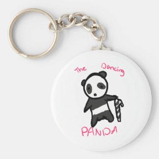 The Dancing Panda CandyCane Keychain