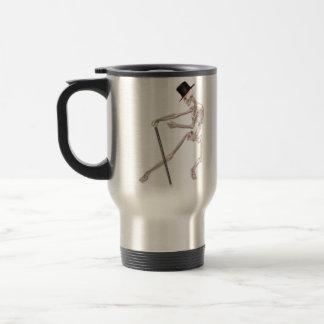 The Dancing Skeleton Travel Mug