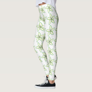 The Dancing Star Flower Leggings