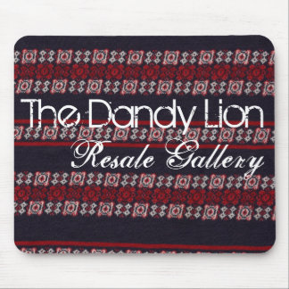 The Dandy Lion mousepad