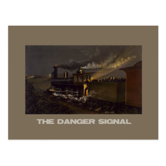The Danger Signal Postcard