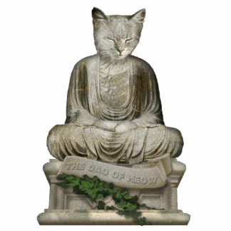 The Dao of Meow Standing Photo Sculpture