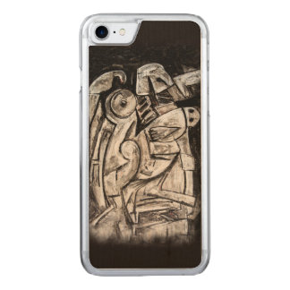 The dark despair of george carved iPhone 8/7 case
