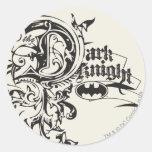 The Dark Knight Ornate Stickers