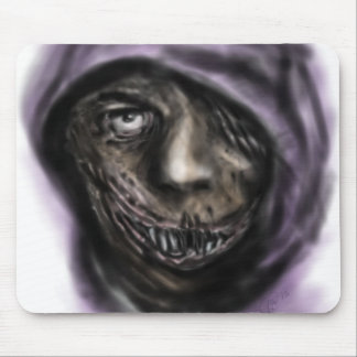 The Dark Smile Mouse Pad