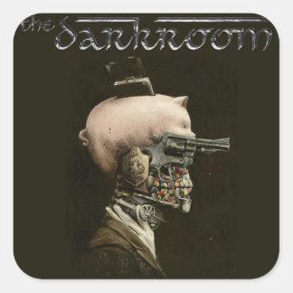 The Darkroom Skull Sticker