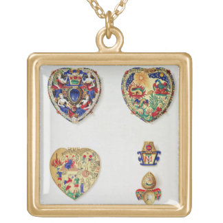 The Darnley Jewel, from 'Historical Notes on the L Gold Plated Necklace