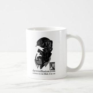 The Darwin Illusion Coffee Mug