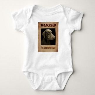 The Dashing Doberman Baby Bodysuit