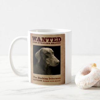 The Dashing Doberman Mug