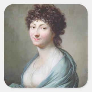 The Daughter: Portrait of Caroline Susanne Graff Stickers