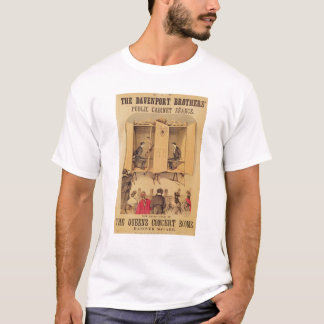 The Davenport brothers, poster for Seance, 1865 T-Shirt