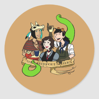 The Davenport Sisters Sticker