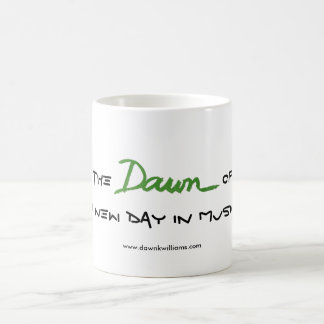 The Dawn of a New Day in Music Mug
