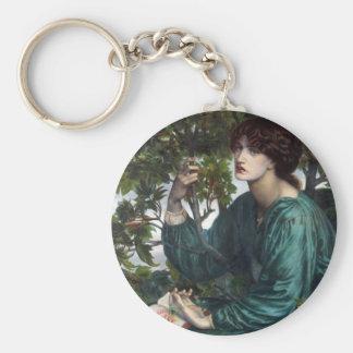 The Day Dream by Dante Gabriel Rossetti Keychain