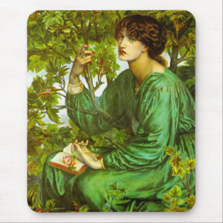 The Day Dream by Dante Gabriel Rossetti Mouse Pad