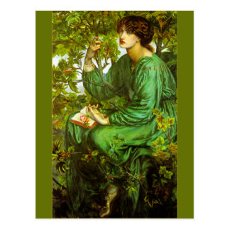 The Day Dream by Dante Gabriel Rossetti Postcard