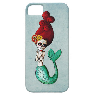 The Day of The Dead Mermaid Catrina iPhone 5 Cover