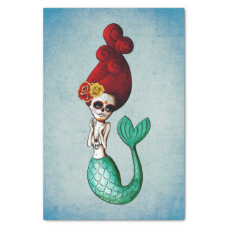 The Day of The DeadCute and Lovely Mermaid Tissue Paper