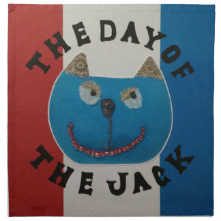 The day of the jack napkin