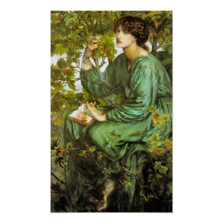 The Daydream 1880 Pre Raphaelite Beauty Poster
