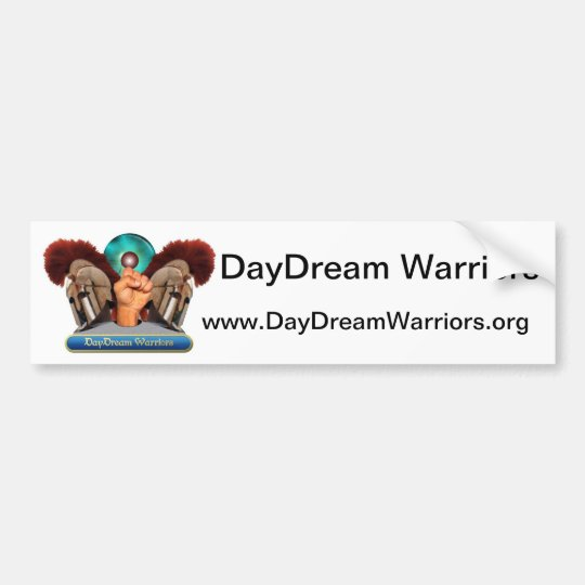 The DayDream Warriors Bumper Sticker