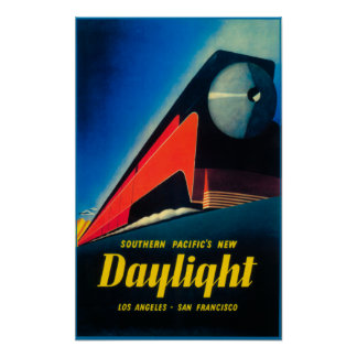The Daylight Train Promotional Poster