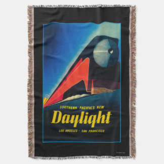 The Daylight Train Promotional Poster Throw Blanket