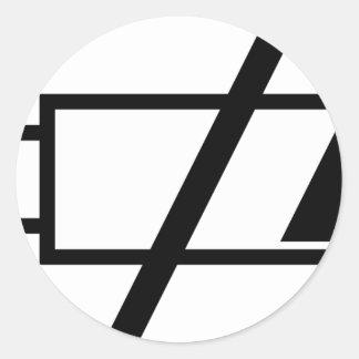 The Dead Batteries Sticker