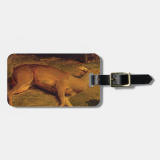 The Dead Doe by Gustave Courbet Bag Tag