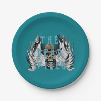 The Dead Files Paper Plate