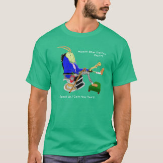The Deaf Cricket And The Ear Trumpet T-Shirt