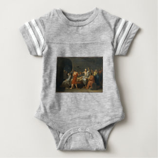 The Death of Socrates Baby Bodysuit