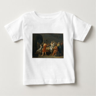 The Death of Socrates Baby T-Shirt