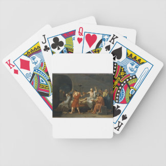 The Death of Socrates Bicycle Playing Cards