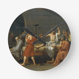 The Death of Socrates Clocks